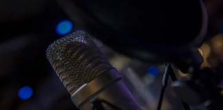 large condenser microphone