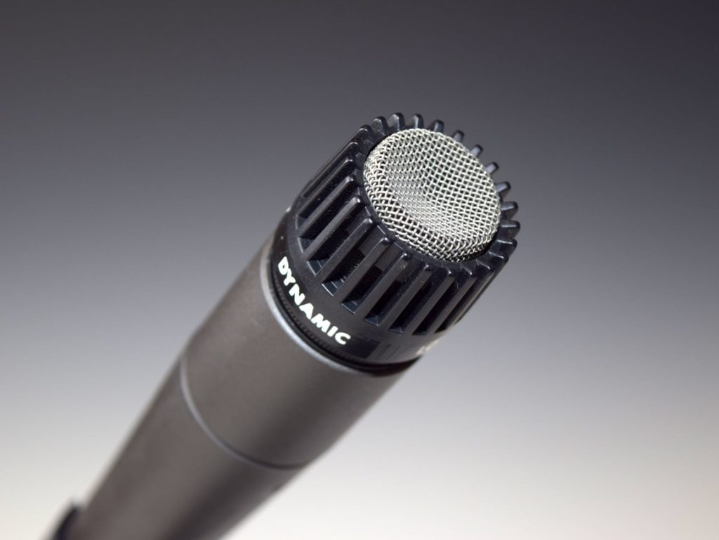 photo of dynamic microphone