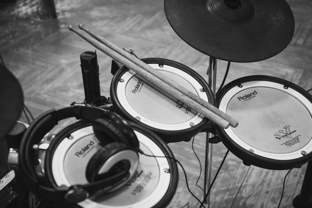 Roland brand electronic vdrums