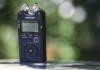tascam portable audio recorder