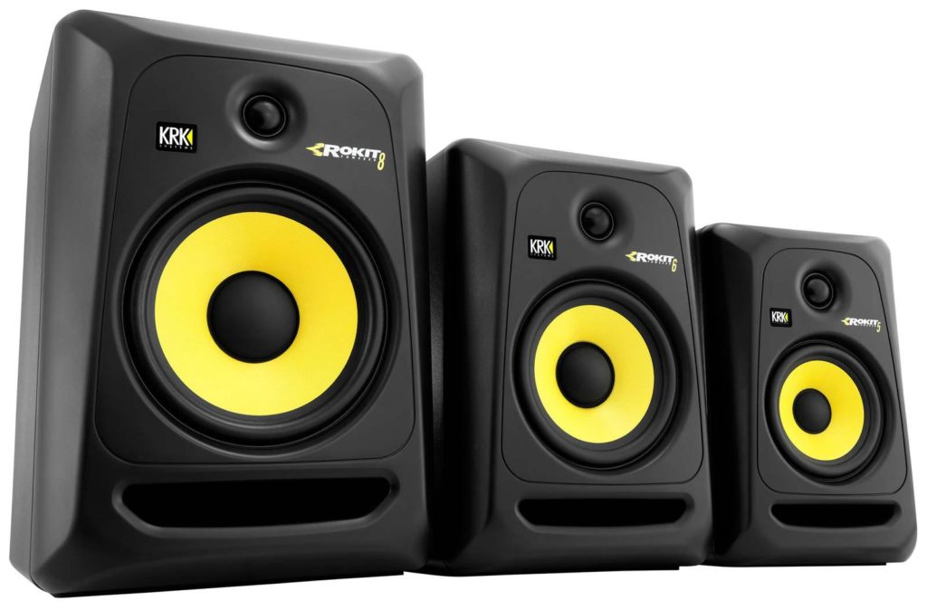 krk monitor series - best studio monitor series