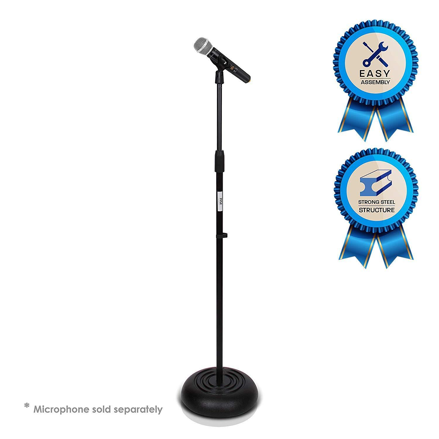 On Stage MS7201B Round Base Microphone Stand