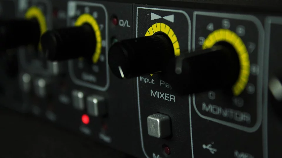 Close up of one of the best audio interfaces