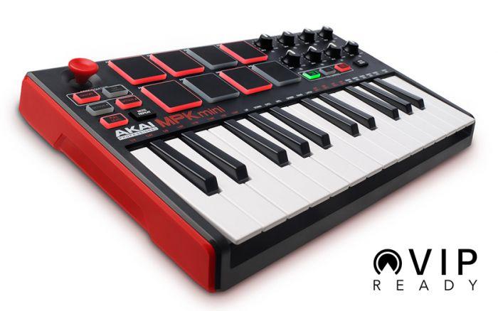 Akai MPK Mini 25-Key Mini MIDI Controller