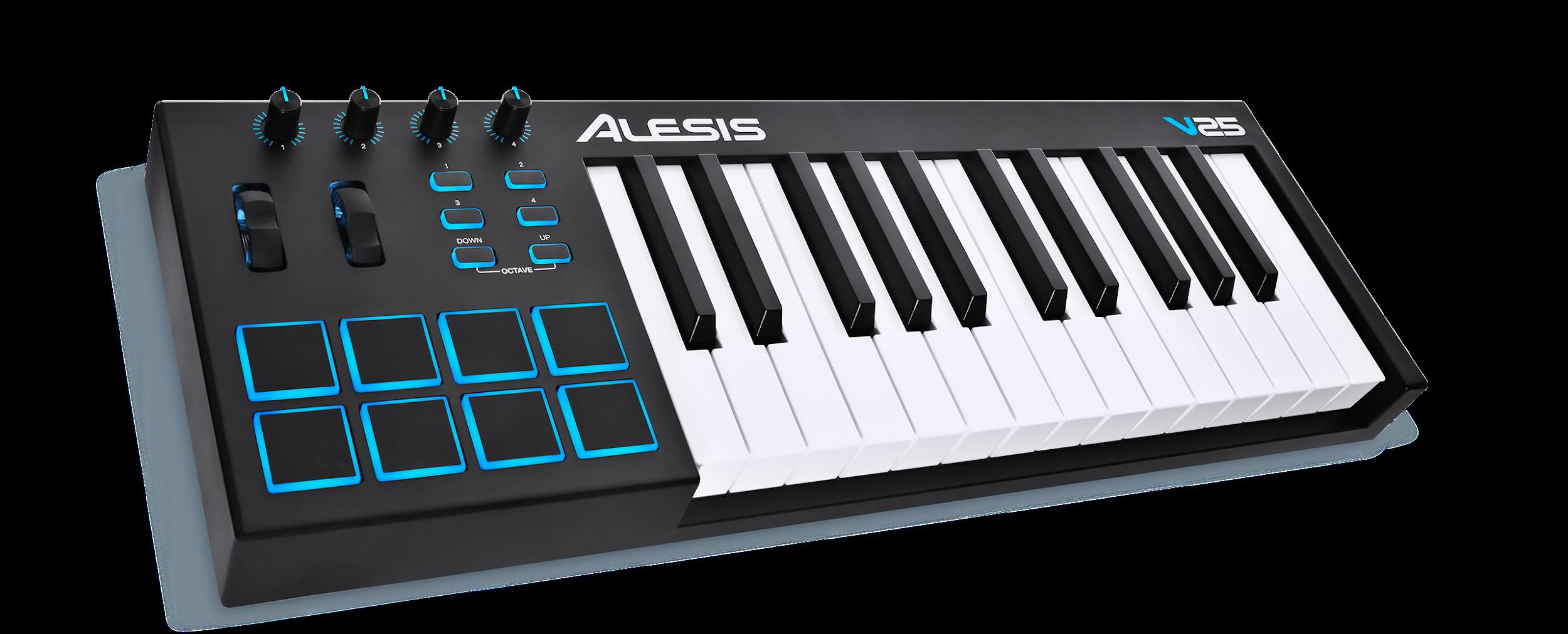 Alesis VI25   25-Key USB MIDI Keyboard Controller with 16 Pads