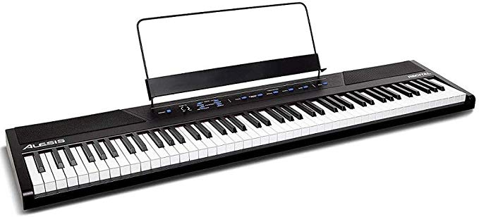 Alesis Recital | 88 Key Piano with Full Size Semi-Weighted Keys | Best Electric Pianos Under $500