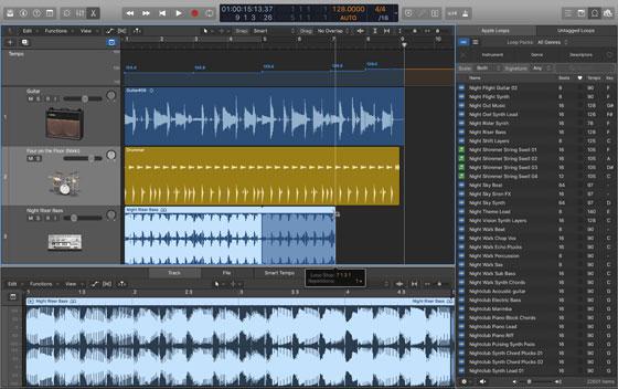 Apple Logic Pro X Screenshot
