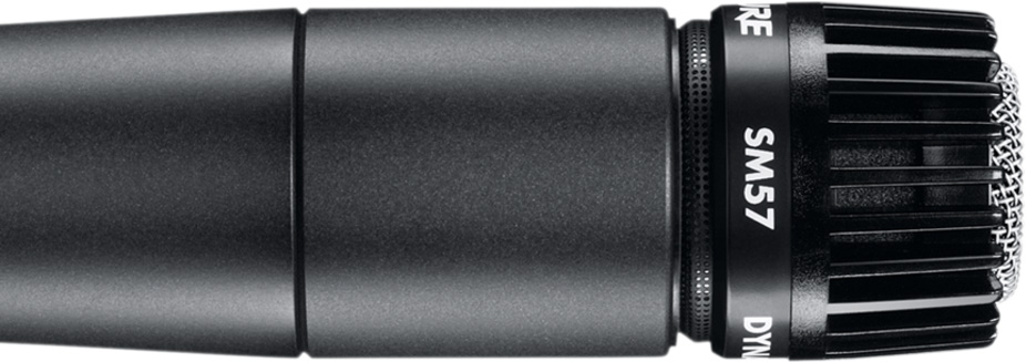 Shure SM57-LC Cardioid - Best Dynamic Microphones